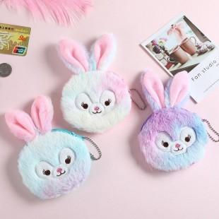 کیف هندزفری پشمی طرح خرگوش