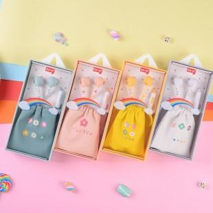 هندزفری ایرسیر طرح رنگین کمان EarSir rainbow