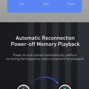 شارژر فندکی و اف ام پلیر بیسوس مدل Baseus Streamer F40 AUX wireless MP3 car charger