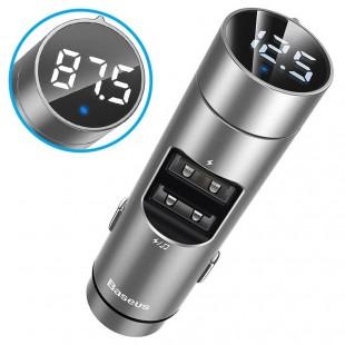 شارژر فندکی و پخش موزیک بیسوس مدل Baseus Energy Column Car Wireless MP3 Charger