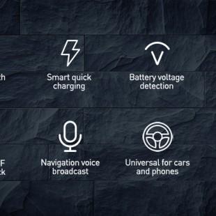 شارژر فندکی فست شارژ و پخش کننده بلوتوث Baseus T-Typed Wireless MP3 Charger S-13