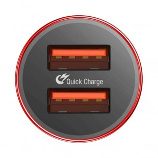 شارژر فندکی بیسوس مدل Baseus Small Screw Type-C PD+USB Quick Charge Car Charger 36W