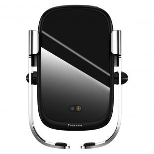 هولدر موبایل و شارژر وایرلس بیسوس مدل Baseus Rock-solid Electric Holder Wireless charger
