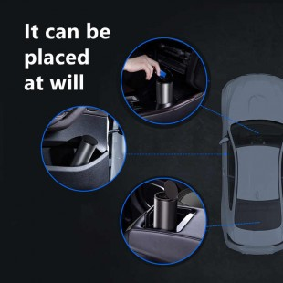سطل زباله اتومبیل بیسوس Baseus Gentleman Style Vehicle-mounted Trash Can CRLJT-01