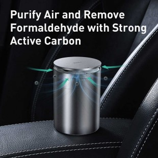 خوشبوکننده اتومبیل بیسوس مدل Baseus ACJHQ-01 Car Micromolecule Formaldehyde Purifier