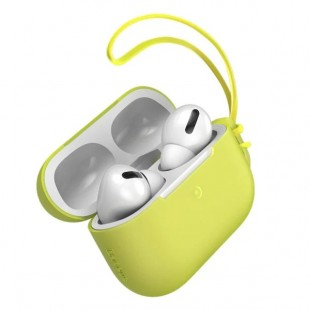 هندزفری بلوتوث دو گوش بیسوس مدل Baseus Let''s go Jelly Lanyard Case for pods pro WIAPPOD-D07