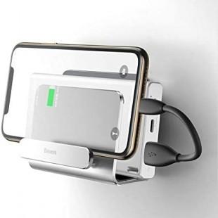 پایه نگهدارنده و هولدر موبایل دیواری بیسوس مدل Baseus wall-mounted metal holder SUBG-0S