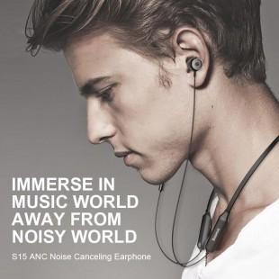 هندزفری بلوتوث دو گوش بیسوس مدل Baseus SIMU neck active noise reduction bluetooth headset S15 NGS15-01