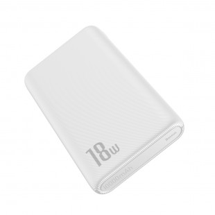 پاوربانک 10000 میلی آمپر بیسوس مدل Baseus Bipow Quick Charge Power Bank PD+QC 10000mAh 18W PPDML-04