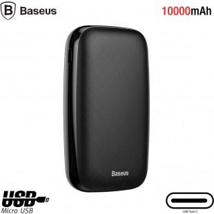 پاوربانک 10000 میلی آمپر بیسوس مدل Baseus Mini Q  power bank 10000mAh M+T input/output 50cm micro cable PPALL-XQ01