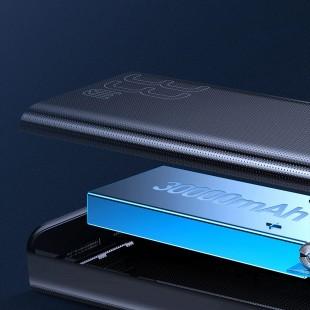 پاوربانک 30000 میلی آمپر شارژ سریع بیسوس مدل Baseus Amblight Quick Charge 33W PD3.0+QC3.0 PPLG-01