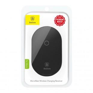 شارژر وایرلس میکروفیبر بیسوس مدل Baseus microfiber wireless charging receiver for micro WXTE-C01
