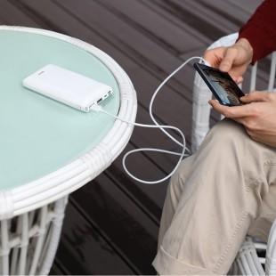 پاوربانک 30000 میلی آمپر فست شارژ بیسوس مدل Baseus mini ja fast charge power bank 3A 30000mAh PPJAN-C01