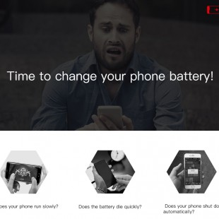 باتری اوریجینال آیفون 8 بیسوس مدل Baseus original phone battery 2200mAh for iP8 ACCB-BIP8