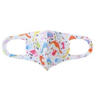 ماسک پارچه ای طرح دار بچگانه