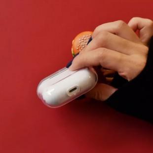 کاور ایرپاد پرو طرح مک دونالد شفاف Airpod pro