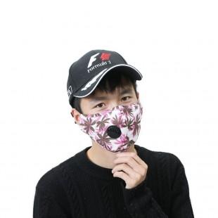 ماسک فیلتردار پارچه ای طرح دار