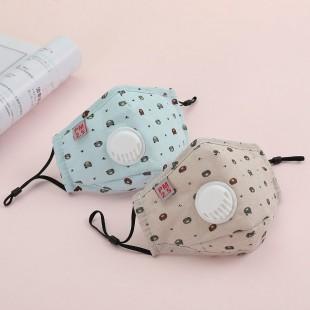 ماسک فیلتردار پارچه ای