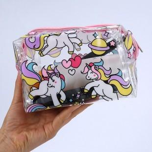 کیف لوازم آرایش طرح دار