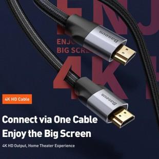 کابل HDMI بیسوس طول 5 متر Baseus Enjoyment Series 4KHD To 4KHD 5m CAKSX-E0G