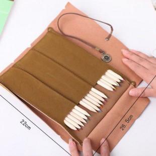 جامدادی های رولی وینتیج Vintage rollup pencilcase