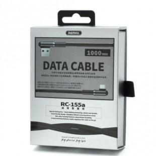کابل شارژ سر کج تایپ سی ریمکس REMAX RC-155a Type-C USB Data Cable