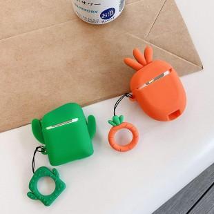 کاور ایرپاد طرح هویج و کاکتوس 1/2 Airpod