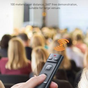 نشانگر لیزری بیسوس مدل Baseus orange dot Wireless Presenter red laser ACFYB-0G