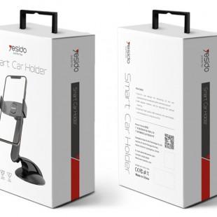 هولدر موبایل اتومبیل یسیدو Yesido C43 car phone holder suction cup