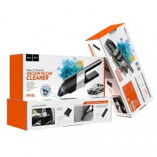 جارو برقی خودرو هوکو Hoco PH16 azure portable vacuum car cleaner