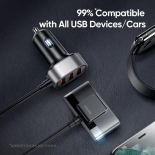 شارژر فندکی جویروم Joyroom JR-CL03 6.2A multi ports USB car charger adapter