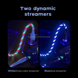 کابل میکرو usb جویروم Joyroom S-1224N3 micro USB intelligent light control streamer charging data cable
