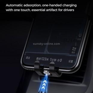 کابل فست شارژ مگنتی تایپ سی جویروم Joyroom S-1021X3 Type-C / USB-C magnetic charging cable with LED indicator