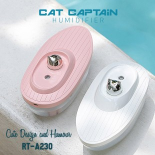 دستگاه بخور سرد ریمکس طرح کشتی Remax RT-A230 cat captain humidifier