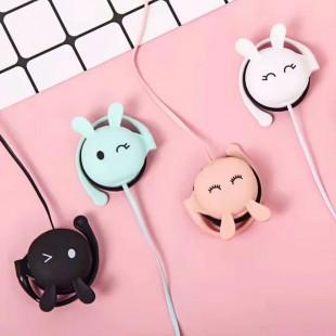 هندزفری فانتزی طرح خرگوش ناز Yinbaoli cute bunny earphone KN313