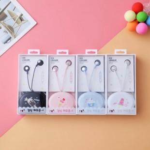 هندزفری فانتزی طرح بستنی Earbud ice cream earphone XY39