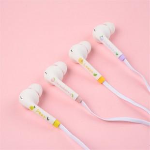 هندزفری فانتزی طرح میوه fruit design earphone with storage bag