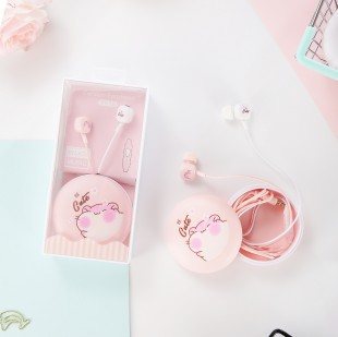 هندزفری فانتزی طرح همستر cute hamster cartoon headset XY18