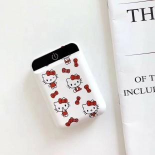 مینی پاور بانک فانتزی طرح هلو کیتی Hello kitty cartoon mini portable power bank
