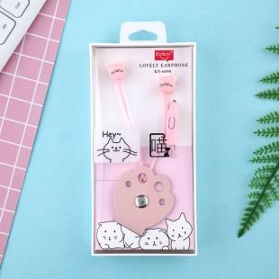 هندزفری فانتزی طرح پنجه کینبنی Kinbni kn-6090 cat claw cartoon earphone