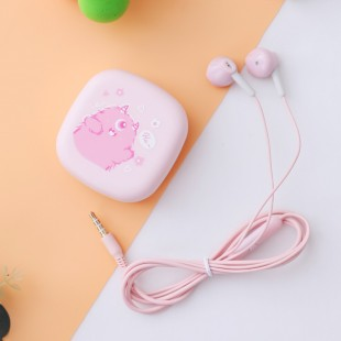 هندزفری فانتزی طرح حیوانات کارتونی Fashion cartoon animal earphones XY-36