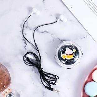 هندزفری فانتزی طرح دسر کیکا Keeka KA-177 dessert earphones