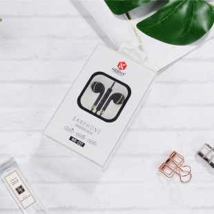 هندزفری رنگی طرح آیفون کیکا Keeka WE-227 Wired earphone