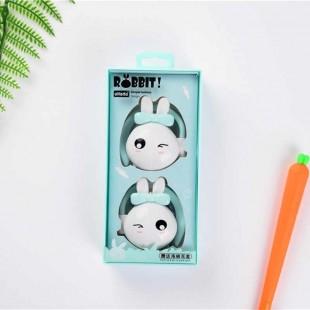 هندزفری فانتزی طرح خرگوش BC-02 cute cartoon bow rabbit earphone