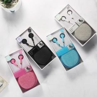 هندزفری فانتزی طرح ماکارون کیکا lovely me Q38 cute Macaron earphones
