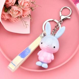 جاسوئیچی طرح خرگوش Gradient rabbit keychain code 73-5