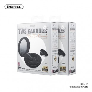 هندزفری بلوتوث دو گوش ریمکس Remax Vizi series earbuds TWS-9