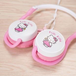 هدفون با سیم طرح هلوکیتی و مینیون Hello Kitty AL-4