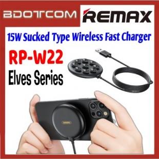 کابل شارژ بی سیم ریمکس Remax Elves series 15w sucked-type wireless charger RP-W22