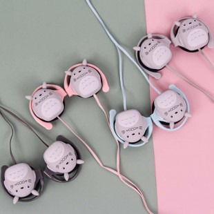 هندزفری دورگوشی کینبنی Kinbni KN-3030 totoro earphones